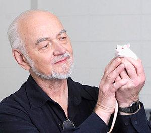 Dr Jaak Panksepp is an Estonian-born, worldly acclaimed neuroscientist and psychobiologist, known in the popular press for his research on laughter in non-human animals.